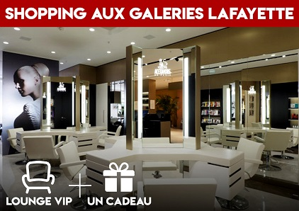 Shopping aux Galeries LAFAYETTE